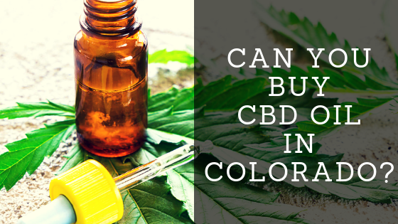 Can You Buy CBD Oil in Colorado?
